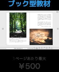 1ページあたり500円